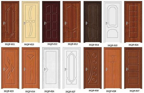 reaching build Wooden PVC Door