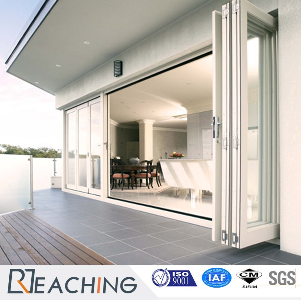 Ground Floor Aluminium Folding Door Factory Suppply High Quality