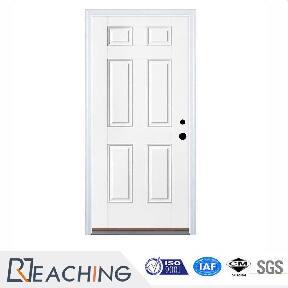 Ocean Style White Color Paniting Anti-Ant Solid Wood Composited Door