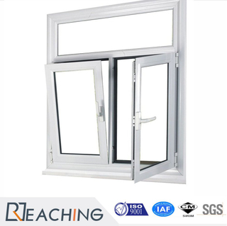 PVC/UPVC Window Casement Window Tilt and Turn Window with Double Glazing