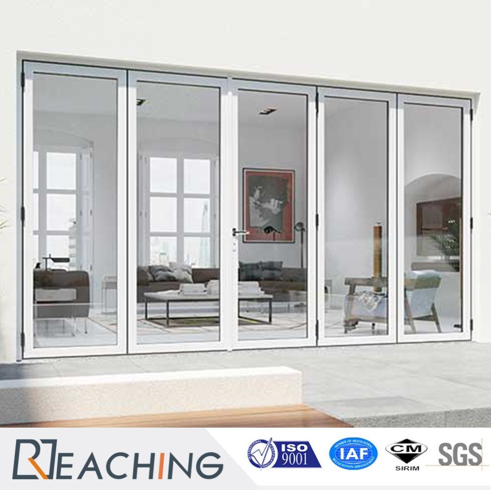 Balcony Folding Door UPVC Frame with Sound Proof Glass