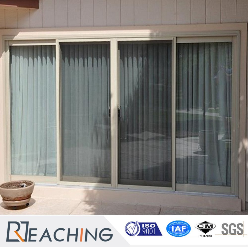 Conch UPVC Balcony UPVC Door with Pattern Glass