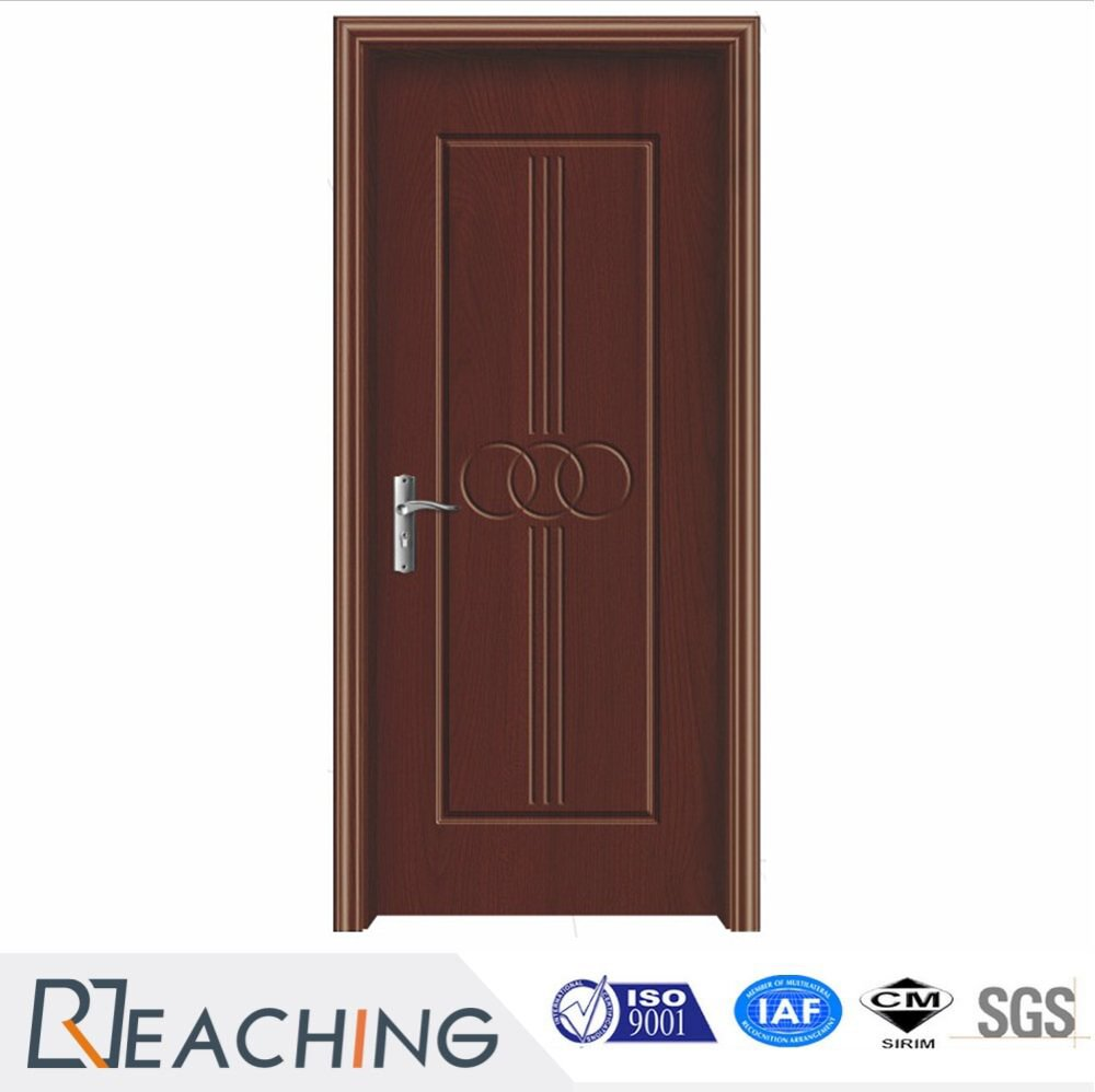 Dark Color Room Vinyl Door Customized Design Modern Style