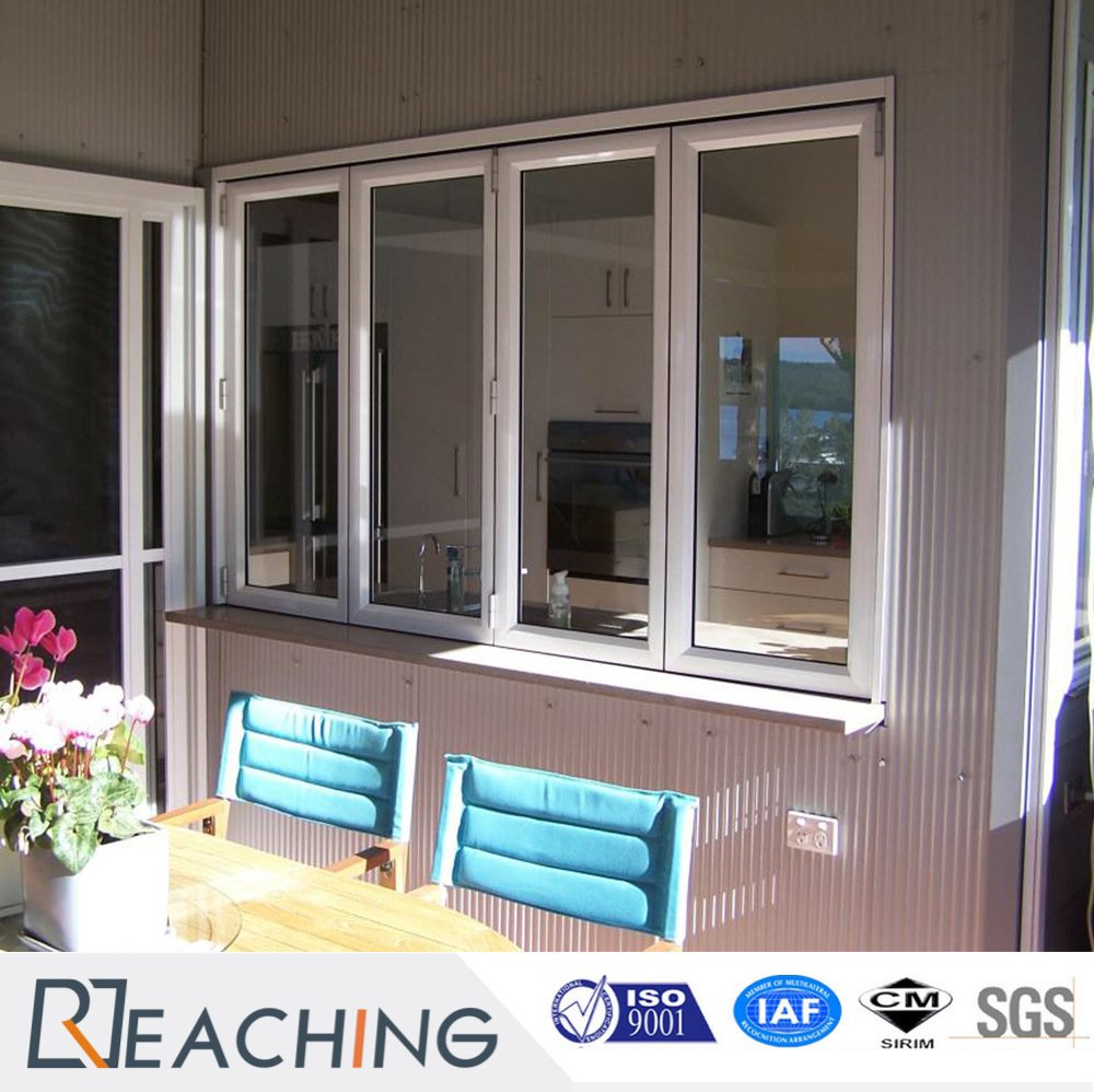 Double Glazing PVC / UPVC Bi-Folding Window / Folding Window