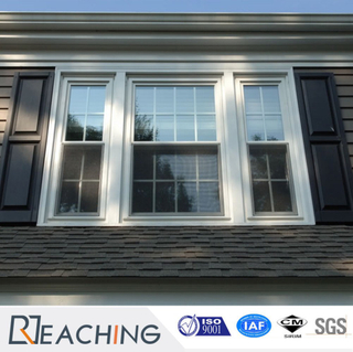 Economic Style Single Glass UPVC Vinyl Windows