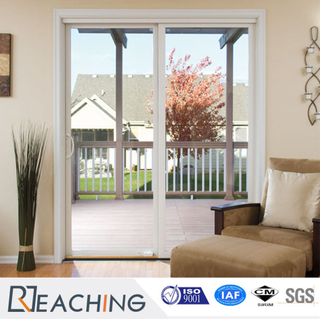 UPVC Sliding Door Grill Design PVC Sliding Doors for Kitchen