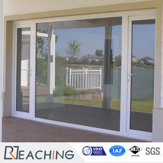 Two Fixed Two Sliding UPVC Balcony Sliding Door