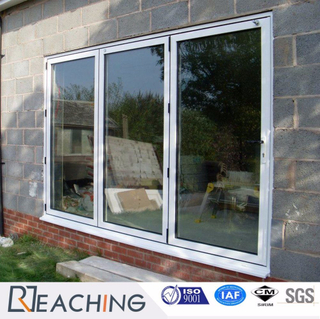 Bi-Folding Vinyl Frame Door Anti-Heat Sound Proof Glass and Water Proof