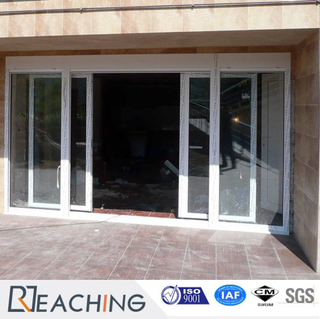 UPVC with Steel Reinforce Sliding Balcony Door Anti-Water