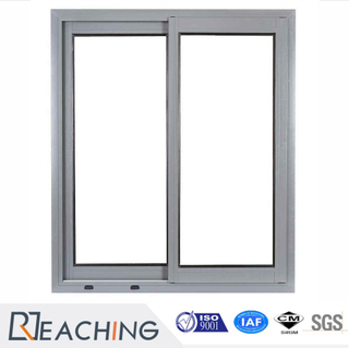 Thermal Break Glass Grill Design Aluminum Standard Size Sliding Window